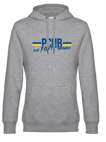 Sweat capuche - Homme OU Femme - Plus forts ensemble - PCHB