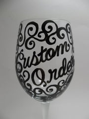 Custom Order Request - THREE Glasses