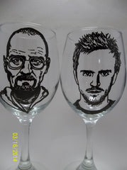 Breaking Bad Wine Glasses