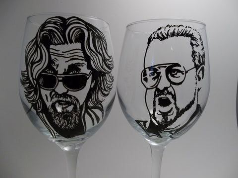 The Big Lebowski, Hand painted glassware