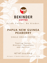 Load image into Gallery viewer, Papua New Guinea Peaberrry