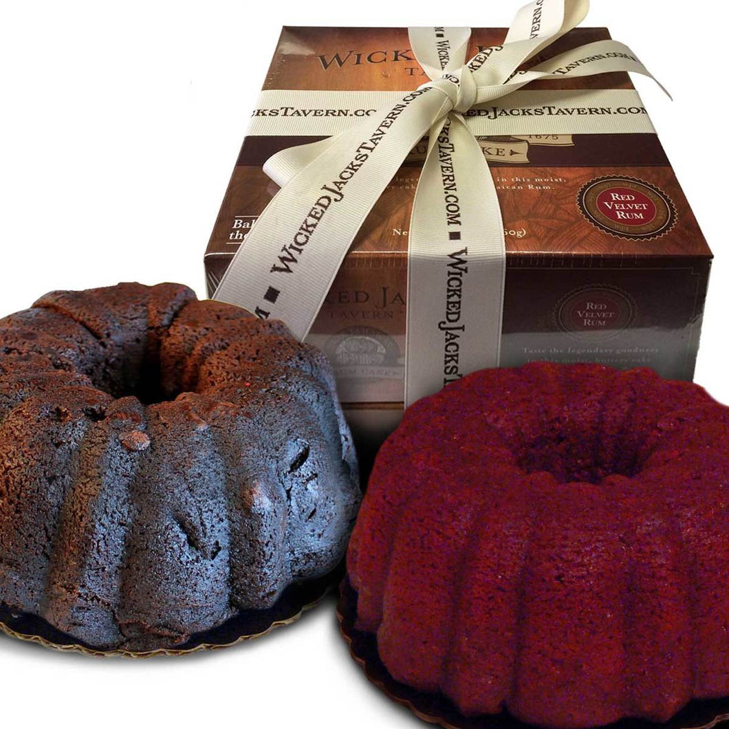 Duo Chocolate and Red Velvet