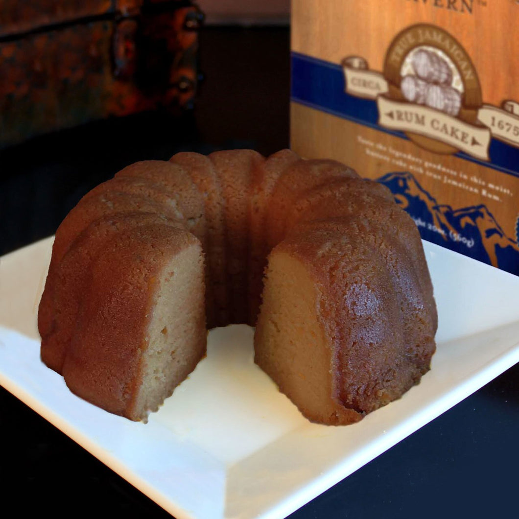 Jamaican Blue Mountain Coffee Rum Cake