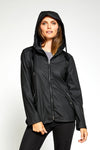 Piper Modern Light Weight Windproof Shell - Black