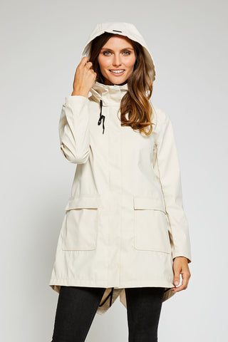 Sadie Modern Light Weight Windproof Shell - Clay