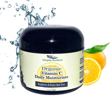 Load image into Gallery viewer, Organic Vitamin C Face Cream with Sea Buckthorne Brightening Daily