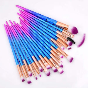 """RAINBOW"" Professional Brush Set"