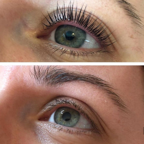 Lash Bomb Lash Lift Results