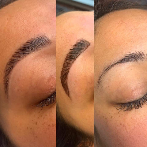 Brow Lamination Results