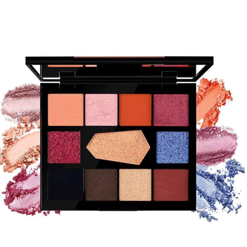 11 Color Eyeshadow Palette -