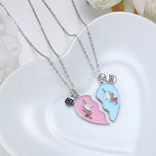 Load image into Gallery viewer, BFF Friendship Unicorn Necklace