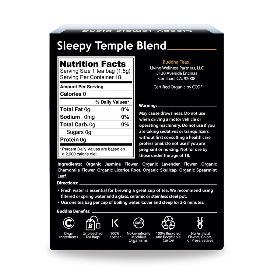 Organic Sleepy Temple
