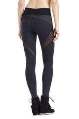 MICHI NY ACTIVEWEAR ILLUSION LEGGING BLACK