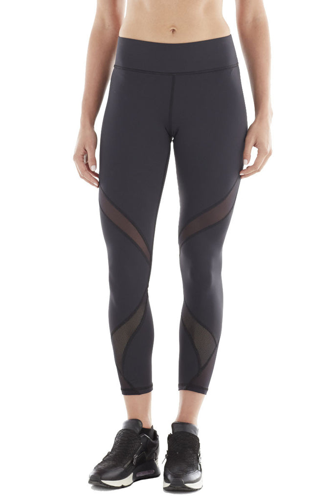 MICHI NY ACTIVEWEAR HYDRA CROP LEGGING - BLACK