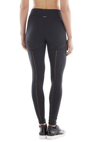 MICHI NY ACTIVEWEAR REVUE LEGGING - BLACK