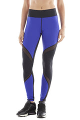 Michi NY Activewear - Supernova Legging Bright Indigo Blue