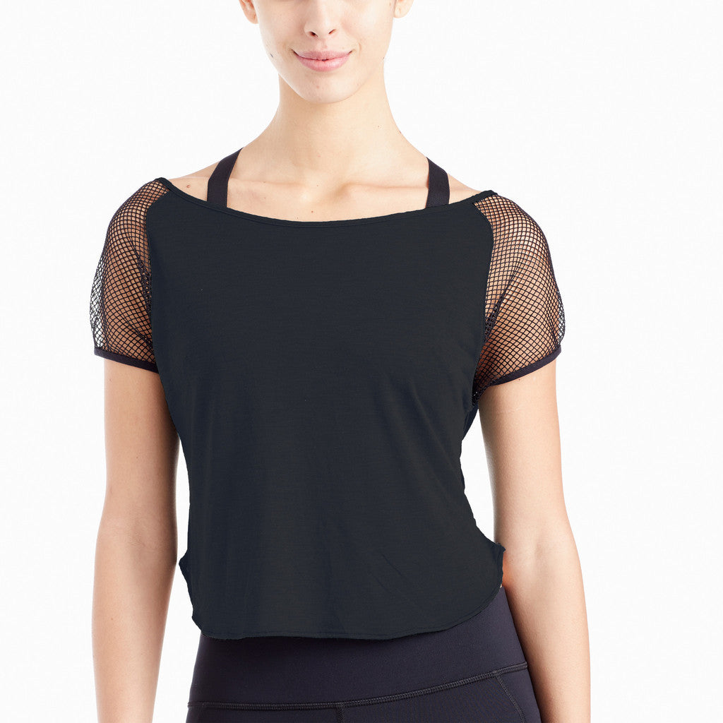 Michi NY Activewear - Butterfly Crop Top