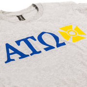 ATO Sport Grey Letters Tee