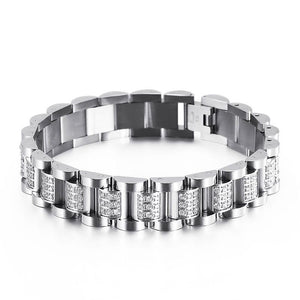 13mm Iced Luxury Watch Band Bracelet