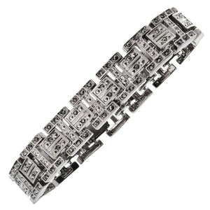 Black Hip-hop Bracelet Essential Accessories for Street Hipsters