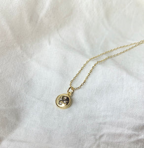 Dinky Lucky Clover Necklace