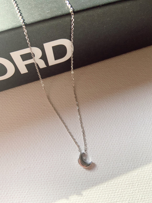Sterling Silver - New Moon Necklace