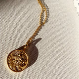 14K Gold Plated - Petra Necklace