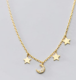 14K Gold Plated - Dinky Universe Necklace