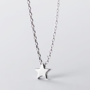 Sterling Silver - Dinky Star Necklace