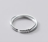 14K Gold Plated - Minimalist Twist Ring