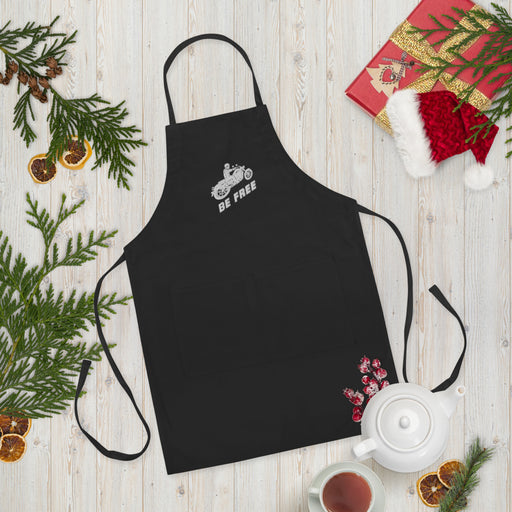 Be Free - Embroidered Apron freeshipping - Motorcycle Merch 99