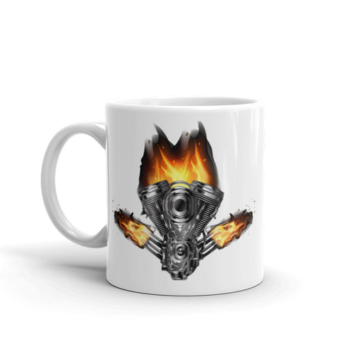 Burning Motor - Mug freeshipping - Motorcycle Merch 99