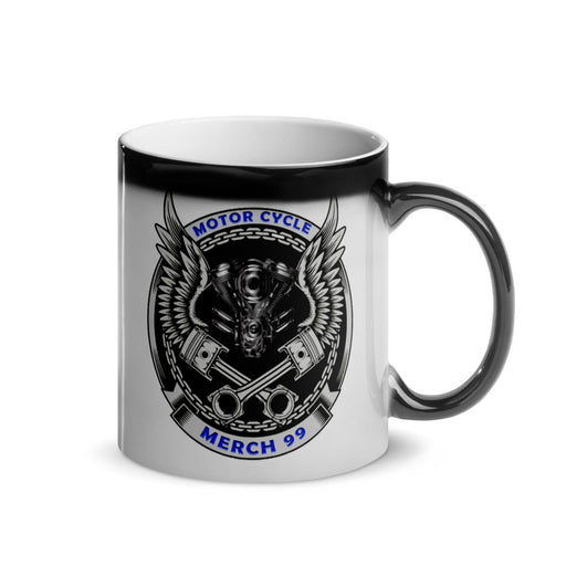 Logo - Glossy Magic Mug freeshipping - Motorcycle Merch 99