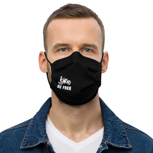 Be Free - Premium Face Mask freeshipping - Motorcycle Merch 99