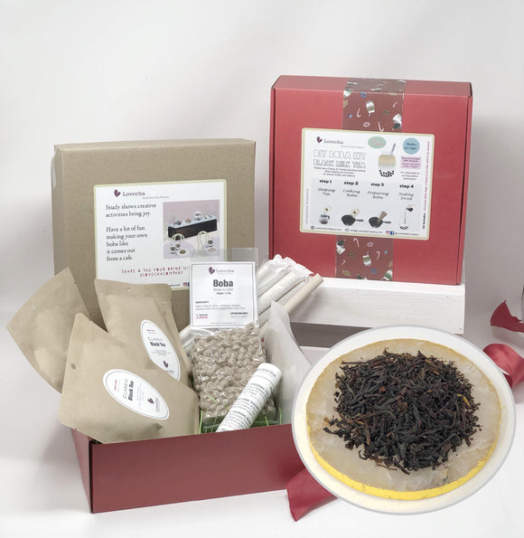 DIY Boba Kit - Black Tea * (12 Cups) - Fundraiser for CNUSD