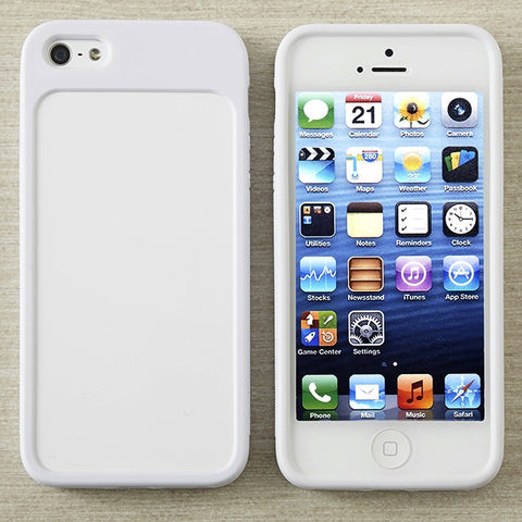 Picture of Switchable Hardshell Flex-frame Case for iPhone 5/5s Cell Phone