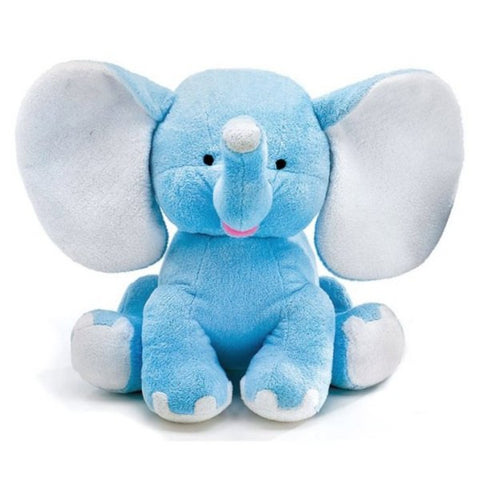"Picture of 13"" Blue Buddy Plush Elephant"