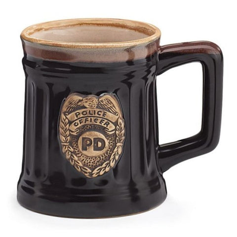 Picture of 15 oz. Police Officer Porcelain Coffee Mugs - 6 Pack