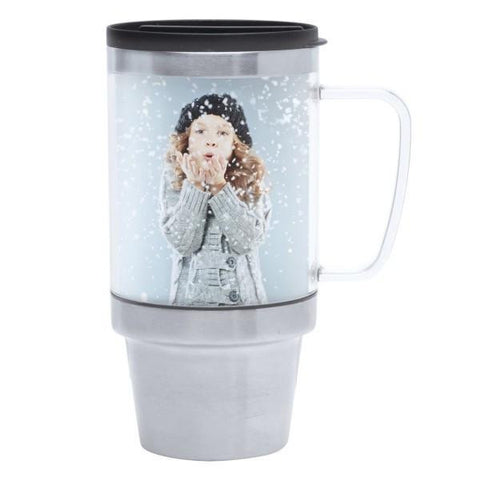 Picture of 16 oz. Stainless Steel Travel Mug