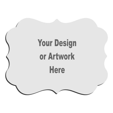 Picture of Benelux Creative Border Desktop Hardboard Plaque for Your Design