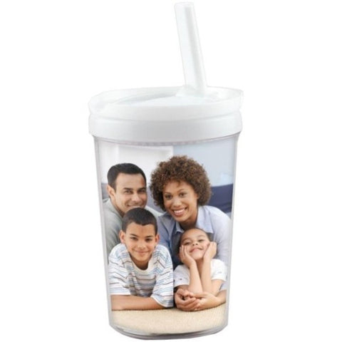 Picture of 8 oz. Kids Tumbler with Straw