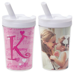 8 oz. Kids Tumbler with Straw - 4 Pack