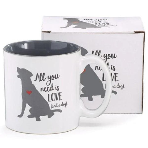 Picture of All You Need Is Love/Dog Ceramic Mug