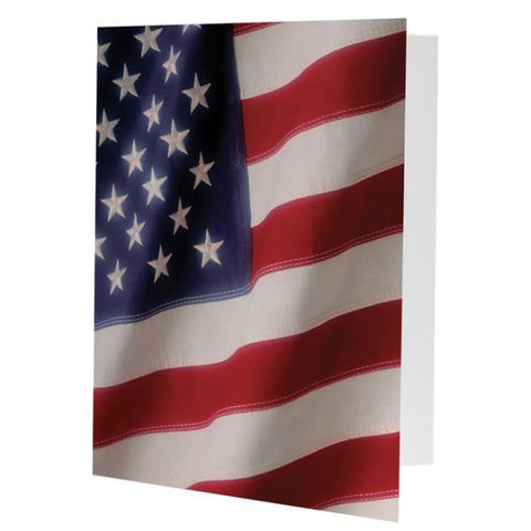 Picture of American Flag Photo Folders - 25 Pack