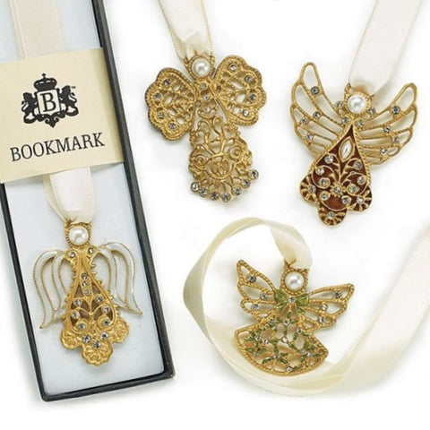 Picture of Angle Ribbon Bookmarks - 4 pc Set