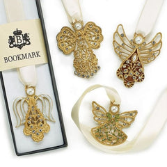 Angle Ribbon Bookmarks - 4 pc Set