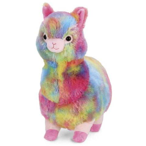 Picture of Annabelle Plush Stuffed Animal Rainbow Alpaca
