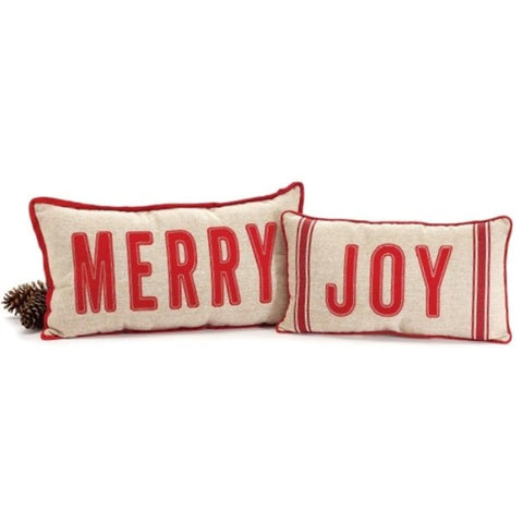 Picture of Assorted Joy Merry Message Pillows - Pack of 2 Sets