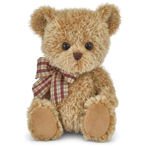 Picture of Baby Shaggy Brown Plush Teddy Bear