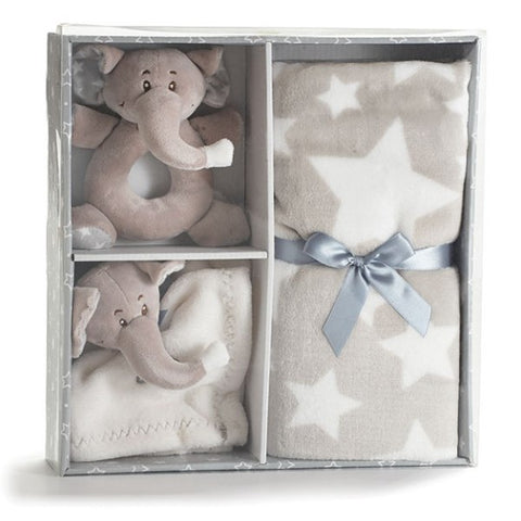 Picture of Baby Gift Set with Gray Elephants